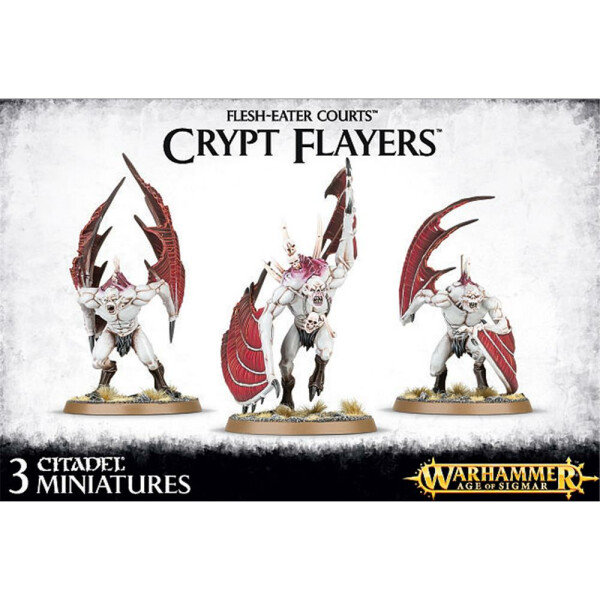Flesh-Eater Courts Crypt Flayers / Horrors / Soulblight Vargheists