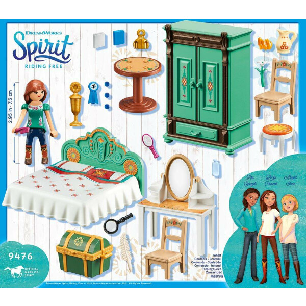 PLAYMOBIL 9476 - Spirit - Riding Free - Luckys Schlafzimmer