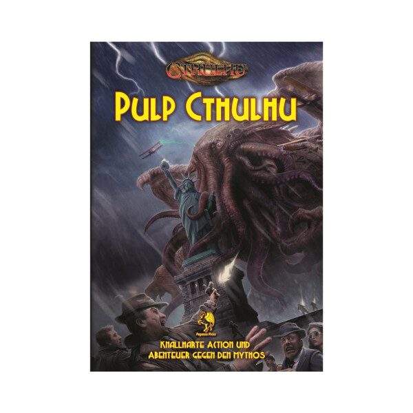 Cthulhu 7.0 - Pulp Cthulhu (Hardcover)