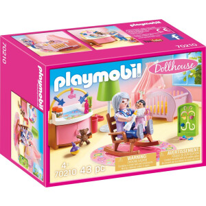 PLAYMOBIL 70210 - Dollhouse - Babyzimmer