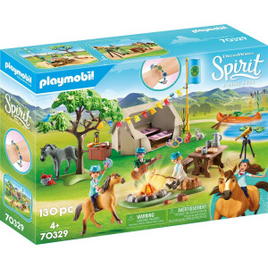 PLAYMOBIL 70329 - Spirit - Riding Free - Sommercamp