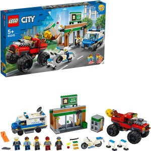 LEGO City - 60245 Raubüberfall mit dem Monster-Truck