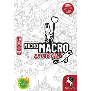 Edition Spielwiese - MicroMacro - Crime City, deutsche...