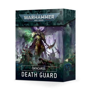Datacards: Death Guard (Englisch)