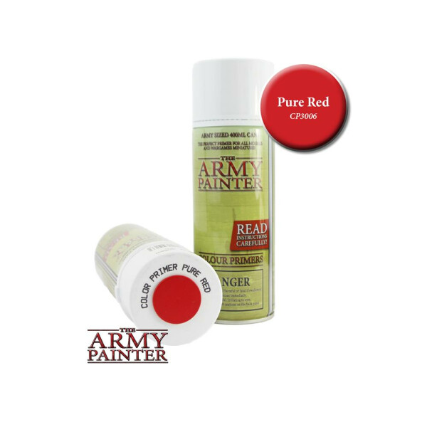 Army Painter - Primer: Pure Red Spray (400ml)