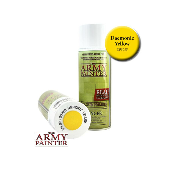 Army Painter - Primer: Daemonic Yellow (400ml)
