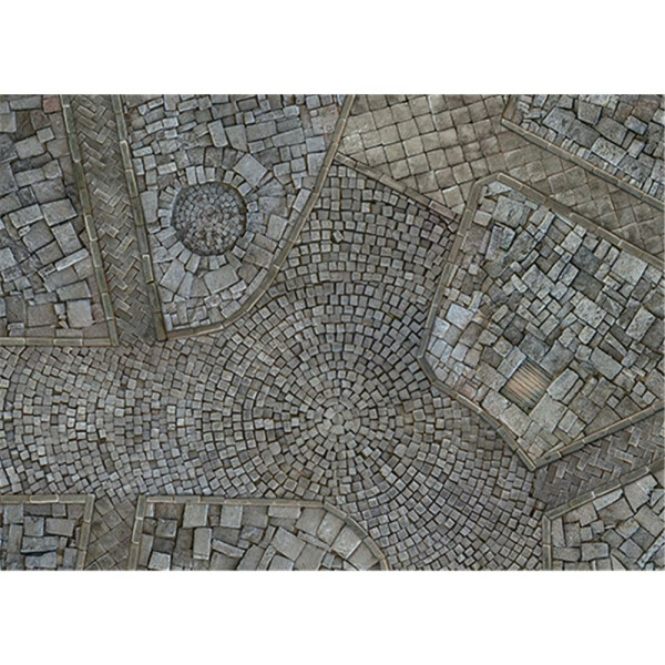 Cobblestone City Game Mat (4x4)