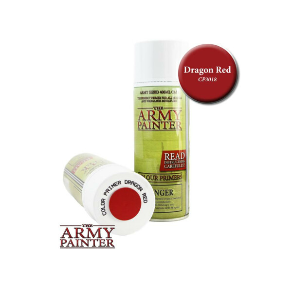 Army Painter - Primer: Dragon Red (400ml)