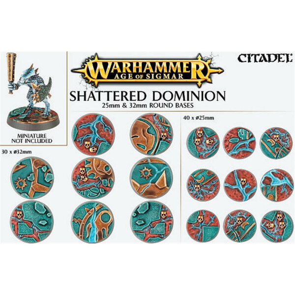 Shattered Dominion 25mm&32mm Round Bases