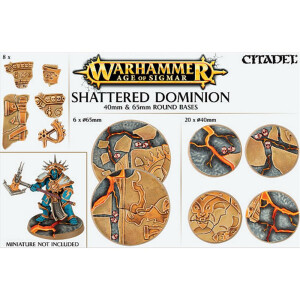 Shattered Dominion 40mm&65mm Round bases
