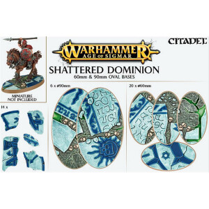 Shattered Dominion 60mm&90mm Oval bases