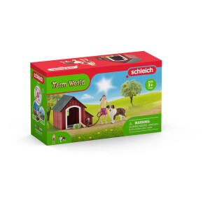 Schleich - World of Nature - Farm World - Hundehütte