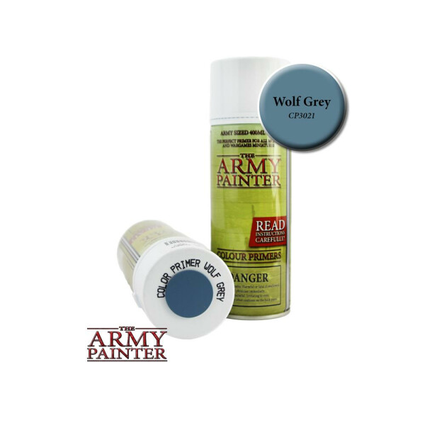 Army Painter - Primer: Wolf Grey Spray (400ml)