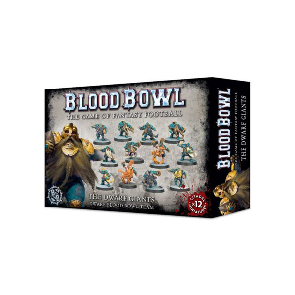 Blood Bowl: The Dwarf Giants (Zwergen Team)