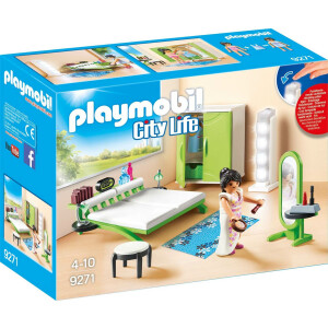 PLAYMOBIL 9271 - City Life - Schlafzimmer